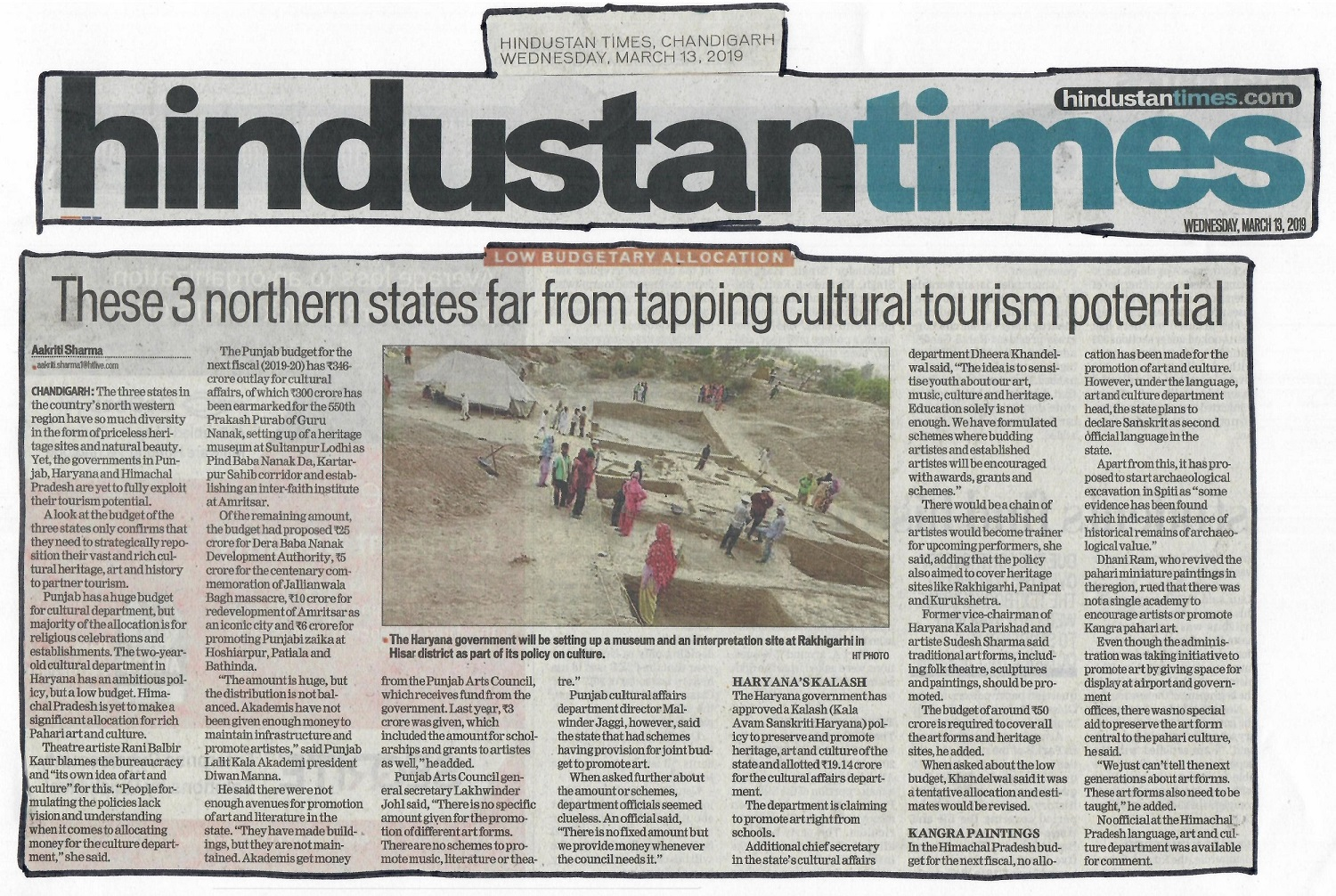 Tapping Cultural Tourism